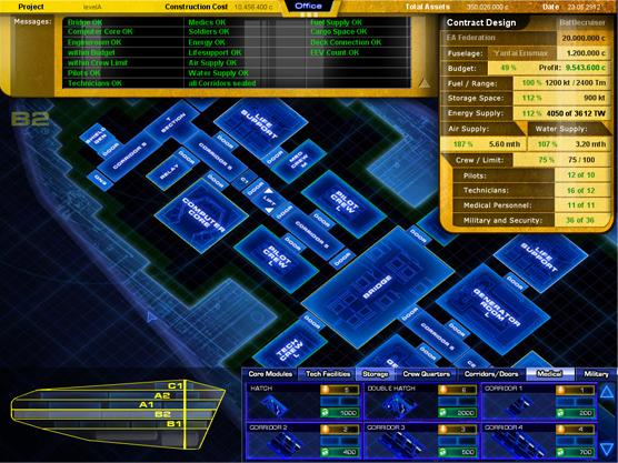 Starship Corporation Indiegogo - Spaceship design game